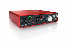 Focusrite Scarlett 6i6 - Interface Audio USB 2.0 - Carte Son Exterieur Nouveau