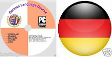 GERMAN LANGUAGE COURSE , 5 COURSES ON 2 DISCs