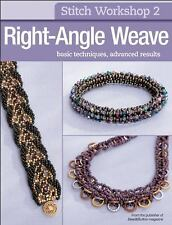NEW Stitch Workshop Right-Angle Weave Paperback Beadwork Bead & Button Magazine