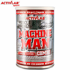 Machine Man Combo 240 Caps BCAA Amino Acids Creatine Vitamin Electrolyte Complex