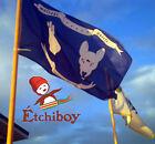 Etchiboy Metis Batoche Battle Standard Flag Etendard De Bataille Drapeau Blue