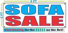SOFA SALE Banner Sign NEW Larger Size Best Quality for The $$$