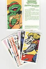 PG Tips Brook Bond 1990 Teenage Mutant Turtles  12 Tea Cards Complete Set