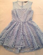 GIANNI BINI Formal Dress Size Large Powder Blue Sleeveless  NEW With Tags