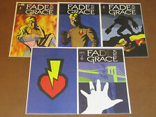 FADE FROM GRACE #1 - 5 NM COMPLETE BECKETT SERIES HERO LOVE STORY JEFF AMANO ART