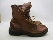 RED WING D334 Men's Size 7 IRISH SETTER SPORT Brown Leather Boots