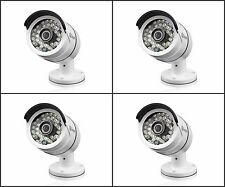 4- PACK Swann SRPRO-A855WB4-US , PRO-A855 AHD 1080P HD White Bullet Cameras