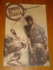 ZOMBIES VS ROBOTS WARBOT TREASURY EDITION CHRIS RYALL ASHLEY WOOD GRAPHIC NOVEL