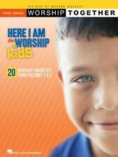 Here I Am to Worship For Kids Sheet Music WorshipTogether Series Easy  000316098