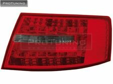 Audi A6 4F C6 04-08 LED REd Smoked Taillights tail light Rear BACK Lamp s6 Limo