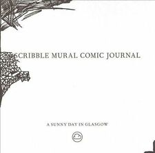 """A SUNNY DAY IN GLASGOW - """"Scribble Mural Comic Journal"""" - shoegaze indie rock CD"""