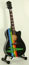 PINK FLOYD / DARK SIDE of the MOON- GUITARE ACOUSTIQUE MINIATURE de COLLECTION !