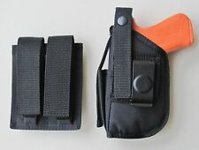 Holster Magazine Pouch Combo For GLOCK 17,22,31 & 37 with Tactical Light
