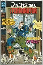 Deathstroke : The Terminator #5 : Vintage DC comic book from December 1991