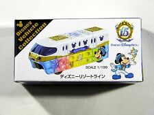 Tokyo Disney Sea 15th Anniversary TOMY TOMICA Minnie Monorail 1/6 NEW JAPAN