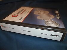 GROVE MANITOWOC GMK 6300 CRANE CIRCUIT DIAGRAMS SCHEMATICS CATALOG MANUAL