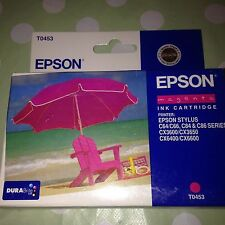 ORIGINAL EPSON Magenta Print INK Cartridge Printer STYLUS C64 CX Models Etc New