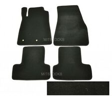 FIT FOR 2005-2014 FORD MUSTANG & COBRA BLACK NYLON CARPET FLOOR MATS 4 PIECES