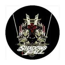 SHADOWS FALL 1-inch BADGE Button Pin Machine Throne Logo OFFICIAL MERCHANDISE