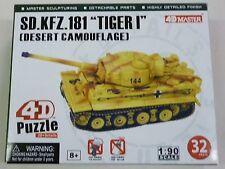 4D Master 1/90 HO SD KFZ 181 Tiger I Tank Snap 26322