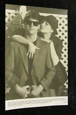 RISKY BUSINESS original press photo TOM CRUISE, REBECCA De MORNAY