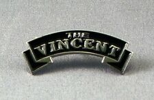 Metal Enamel Pin Badge Brooch The Vincent Motorcycles Bikes Old Vintage Logo