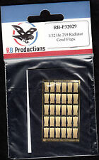 rb-p32029/ RB Productions - PE-Teile - Heinkel He-219 Radiator Cowl Flaps - 1/32