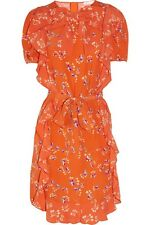 See By Chloe Red Flower Print Dress, US Size 6