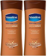2x VASELINA intensive cacao radiante da 400ml Lozione DOUBLE PACK NUOVA FRAGRANZA