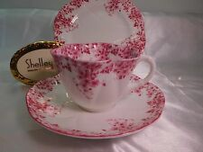 "SHELLEY  DAINTY PINK  DAISY   051/P   ""TRIO""     CUP,  SAUCER  AND 6 1/2""  PLATE"