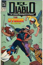 DC Comics EL DIABLO #6 (Feb 1990)