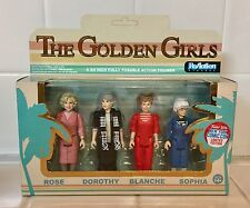 NEW RARE NYCC 2016 FUNKO ReAction Golden Girls 4 Pack Rose Dorothy Blanche Pop