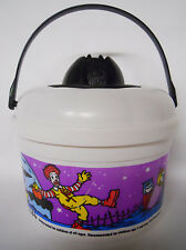 1999 McDonald's Halloween Pail-Bucket-White-Complete