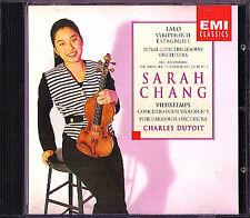 Sarah CHANG: LALO Symphonie Espagnole VIEUXTEMPS DUTOIT CD Violinkonzert Nr.5
