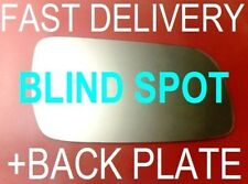 SEAT LEON STI 1999-03 DOOR WING MIRROR GLASS WIDE ANGLE+PLATE RIGHT OR LEFT