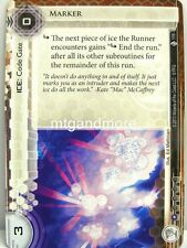 Android Netrunner LCG - 1x Marker  #116 - Double Time