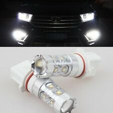 For Toyota Highlander 2011-2012 2x High Power LED CREE P13W Fog Lights Bulbs