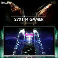 """[Crossover] New 27"""" 27X144 GAMER 1920×1080 144Hz FHD LED 1ms Monitor"""