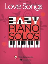 Love Songs Easy Piano Solos Sheet Music Solo Book NEW 014041283