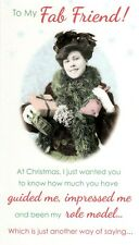 To My Fab Friend Christmas Greeting Card Humour Range Xmas Cards
