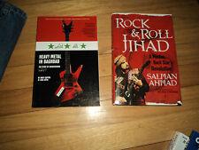2 Music Books Rock & Roll Jihad Salman Ahmad Muslim Star Heavy Metal Baghdad