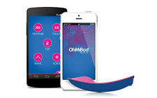 OhMiBod BlueMotion NEX 1 Bluetooth WiFi Wireless Remote Control Panty Vibrator