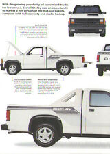 1989 Dodge Dakota Shelby Pickup Truck Article - Must See !! - Carroll Shelby