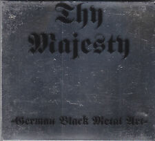 THY MAJESTY - german black metal art CD