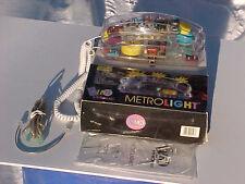 ORIGINAL 1988 FUN PHONE METROLIGHT TELEPHONE SOLID MINT IN BOX PHONE LIGHTS UP