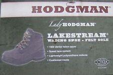 LADY HODGMAN LAKESTREAM WADING SHOE: SIZE 10