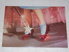 Postcard Wizard of Oz Dorothy's Red Shoes Unposted New #105-184