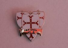 England St George Knights Templar Infidel Badge Enamel Pin Badge Oi! England