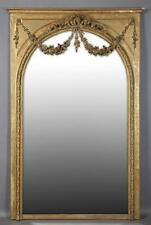 Louis XVI Style Gilt and Gesso Overmantel Mirror, 19th c., the stepp... Lot 1170