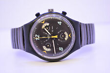 Swatch chronograph CD-Player scb120 reloj pulsera caballero rara vez retro 1997